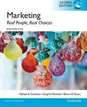 Marketing: Real People, Real Choices, Global Edition