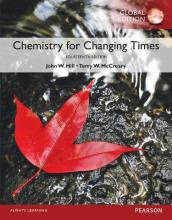 Chemistry For Changing Times with MasteringChemistry, Global Edition