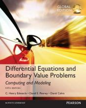 Differential Equations and Boundary Value Problems: Computing and Modeling, Global Edition