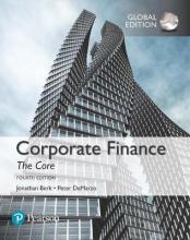 Corporate Finance: The Core plus MyFinanceLab with Pearson eText, Global Edition