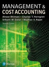 Management and Cost Accounting with MyAccountingLab