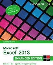 New Perspectives On Microsoft R Excel 2013 Comprehensive Enhanced Edition