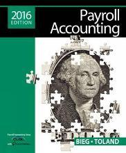 Payroll Accounting 2016 (with CengageNOWv2, 1 term Printed Access Card)