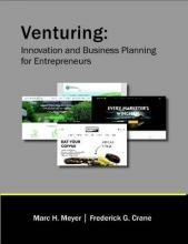 Venturing: Innovation and Business Planning for Entrepreneurs