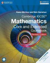 Cambridge International IGCSE: Cambridge IGCSE Mathematics Core and Extended Coursebook with CD-ROM