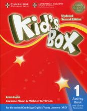 Uncle siu book depository kids box level 1 activity book with online resources british english fandeluxe Images
