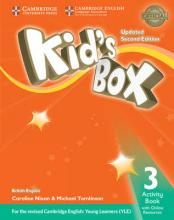 Uncle siu book depository kids box level 3 activity book with online resources british english fandeluxe Gallery