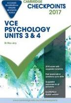 Cambridge Checkpoints VCE Psychology Units 3 and 4 2017 and Quiz Me More