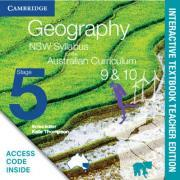 Geography NSW Syllabus for the Australian Curriculum Stage 5 Years 9 and 10 Interactive Textbook Teacher Edition