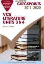 Cambridge Checkpoints VCE Literature 2017-20