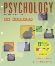 Loose-Leaf Version for Psychology in Modules 11E & Launchpad for Myers' Psychology in Modules 11E (Six Month Access)