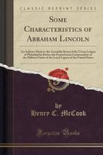 Some Characteristics of Abraham Lincoln