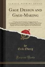 Gage Design and Gage-Making