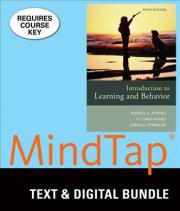 Introduction to Learning and Behavior + Lms Integrated for Mindtap Psychology, 1-term Access
