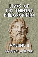 Lives of the Eminent Philosophers Volume II