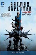 Batman/Superman Volume 1: Cross World TP (The New 52)