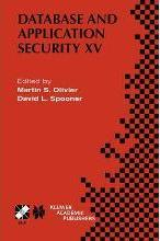 Database and Application Security XV