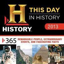 2013 History: This Day in History Boxed Calendar