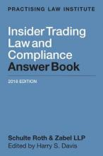 Insider Trading Law and Compliance Answer Book