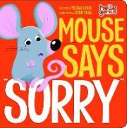 "Mouse Say ""Sorry"""