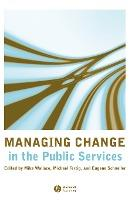 Managing Change in Public Services
