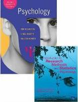 Valuepack: Carlson, Psychology Second Edition with MyPsychLab (Course Compass) and Introduction to Research Methods and Statistics in Psychology