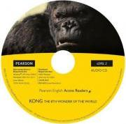 Level 2: Kong the Eighth Wonder of the World Book & CD Pack