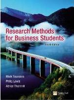 "Research Methods for Business Students: AND ""How to Write Dissertations and Project Reports"""