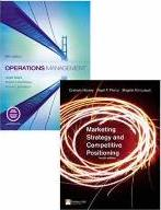 Online Course Pack:Operations Management/Marketing Strategy and Competitive Postioning/Companion Website with GradeTracker Student Access Card:Operations Management 5e