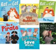 Learn to Read at Home with Bug Club: Red Pack (Pack of 6 Reading Books with 4 Fiction and 2 Non-Fiction)