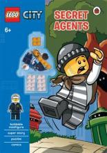Lego City: Secret Agents Activity Book with Minifigure