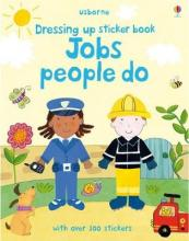 Dressing Up Sticker Book: Jobs People Do
