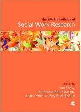 The Sage Handbook of Social Work Research