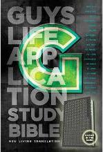 Guys Life Application Study Bible-NLT-Glow in the Dark