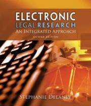 Electronic Legal Research