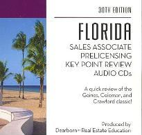 Florida Sales Associate Prelicensing Key Point Review