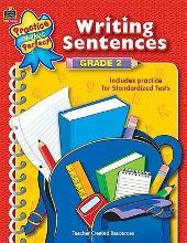 Writing Sentences Grade 2
