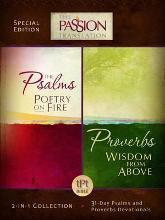 Tpt Passion Translation: Psalms & Proverbs (2 in 1 Collection with Devotionals)