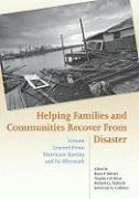 Helping Families and Communities Recover from Disaster