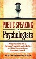 Public Speaking for Psychologists