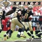 NFL New Orleans Saints 2009 Team Calendar