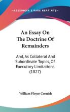 An Essay on the Doctrine of Remainders