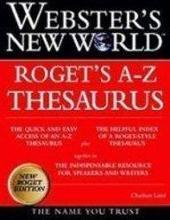 Webster's New World Roget's A-z Thesaurus