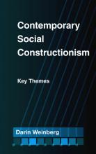 Contemporary Social Constructionism