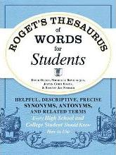Roget's Thesaurus of Words for Students