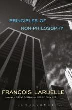 Principles of Non-Philosophy
