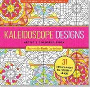 Kaleidoscope Designs Artists Colouring Book 31 Stress Relieving