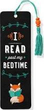 I Read Past My Bedtime Beaded Bookmark