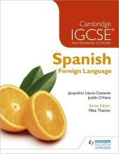Cambridge IGCSE and International Certificate Spanish Foreign Language