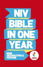 NIV Alpha Bible in One Year